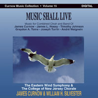 Musiknoten Music Shall Live (Curnow Music Collection Vol.15) - CD