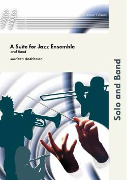 Musiknoten A Suite For Jazz Ensemle and Band, Andriessen