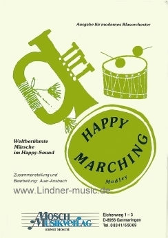 Musiknoten Happy Marching, Auer-Ansbach