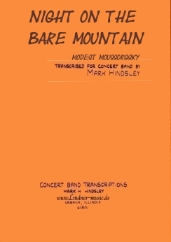 Musiknoten Night on the Bare Mountain, Moussorgsky/Hindsley