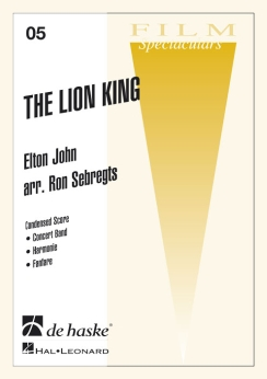 Musiknoten The Lion King, Elton John/Menken/Sebregts