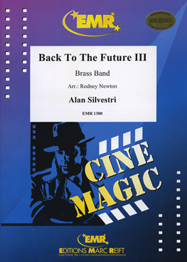 Musiknoten Back to the Future III, Newton/Silvestri - Brass Band