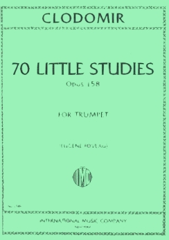 Musiknoten 70 Little Studies for Trumpet, Pierre-Francois Clodomir