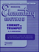 Musiknoten Elementary Method for Trumpet, Robinson
