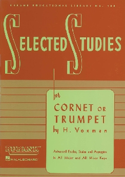 Musiknoten Selected Studies for Trumpet, Voxmann
