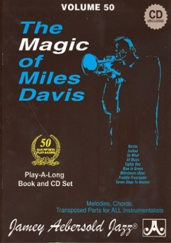 Musiknoten Aebersold 50, Magic of Miles Davis for All Instruments (+CD)