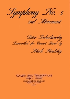 Musiknoten Symphony No. 5 - 2nd Movement, Tschaikowsky/Hindsley