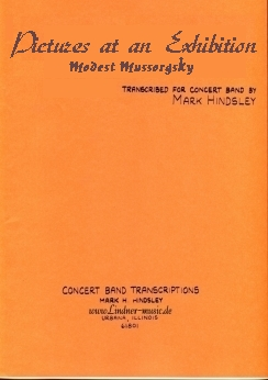 Musiknoten Pictures at an Exhibition, Mussorgsky/Hindsley