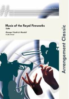 Musiknoten Music for the Royal Fireworks, Händel/Arend