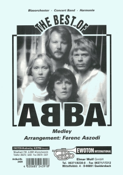 Musiknoten The Best of Abba, Aszodi
