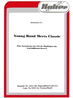 Musiknoten Young Band Meets Classic - Partitur