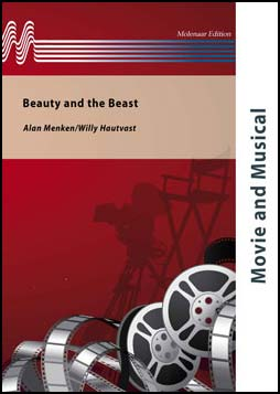 Musiknoten Beauty And The Beast, Menken/Ashman/Hautvast