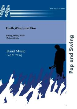 Musiknoten Earth, Wind and Fire, Bailey, White, Willis/Manfred Schneider