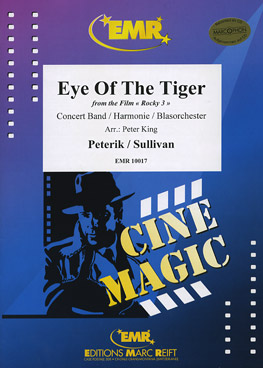 Musiknoten Eye Of The Tiger (from Rocky 3), Peterik/Sullivan, King