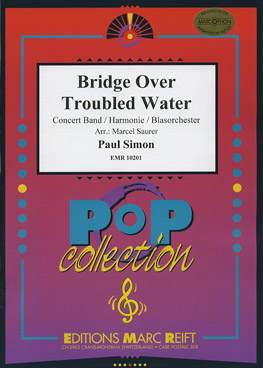 Musiknoten Bridge Over Troubled Water, Paul Simon/Marcel Saurer