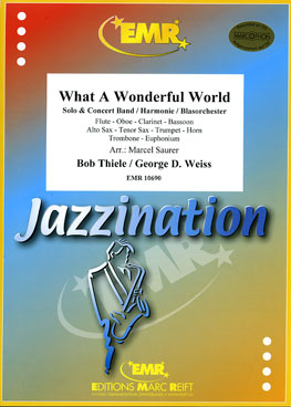 Musiknoten What A Wonderful World, Thiele/Weiss/Saurer