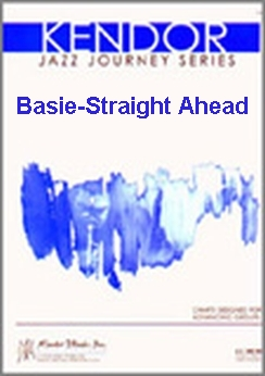 Musiknoten Basie-Straight Ahead (Simplified Version), Nestico