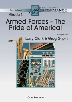Musiknoten Armed Forces, Larry Clark, Greg Gilpin