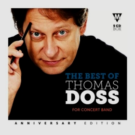 Blasmusik CD The Best of Thomas Doss for Concert Band - CD