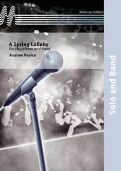 Musiknoten A Spring Lullaby, Andrew Pearce - Fanfare