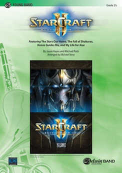 Musiknoten Starcraft II: Legacy of the Void, Jason Hayes, Mike Patti/Michael Story