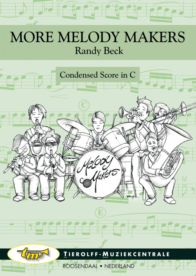 Musiknoten More Melody Makers 2, Randy Beck - score