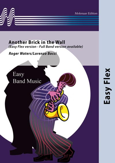 Musiknoten Another Brick in the Wall - Easy Flex version, Roger Waters/Lorenzo Bocci - Fanfare