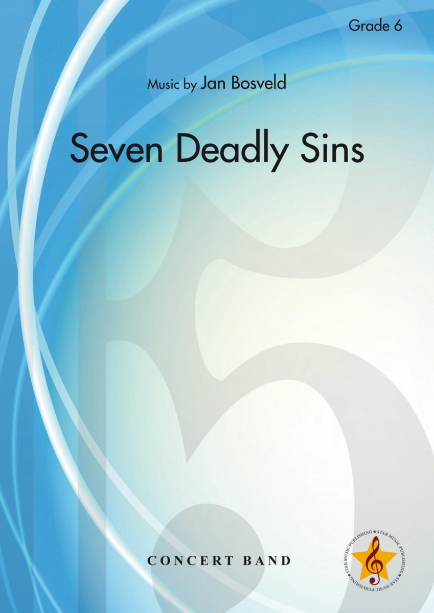 Musiknoten 7 Deadly Sins, Jan Bosveld
