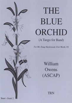 Musiknoten The Blue Orchid, William Owens