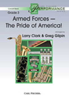 Musiknoten Armed Forces - The Pride of America!, Larry Clark