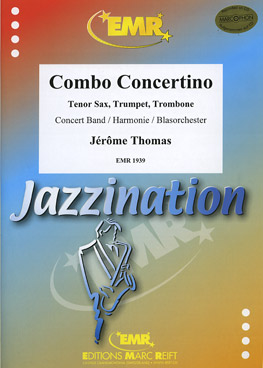 Musiknoten Combo Concertino, Jerome Thomas  (mit CD)