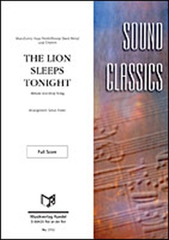Musiknoten The Lion Sleeps Tonight, Weiss/Felder