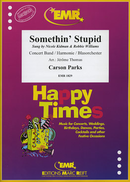 Musiknoten Somethin' Stupid, Carson Parks, Jerome Thomas