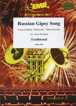Musiknoten Russian Gipsy Song, Richards
