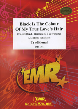 Musiknoten Black Is The Color Of My True Love's Hair, Schneiders, mit CD