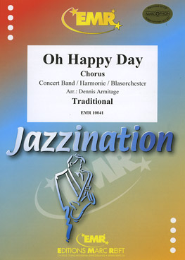 Musiknoten Oh Happy Day (mit Chor), Armitage