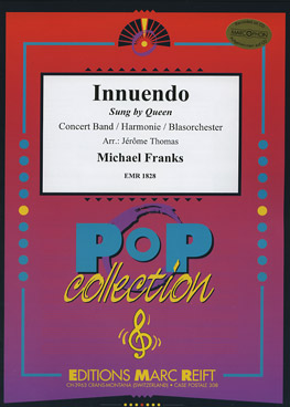 Musiknoten Innuendo, Sung by Queen, Franks/Thomas (mit CD)