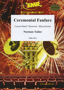 Musiknoten Ceremonial Fanfare, Tailor (mit CD)