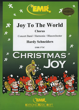 Musiknoten Joy to the World, Traditional, Schneiders (Chorus)