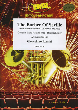 Musiknoten The Barber of Seville, Overture, Rossini/Jaroslav Sip