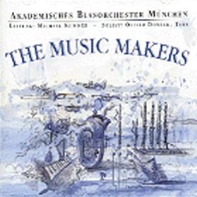 Blasmusik CD The Music Makers (1995/96) - CD