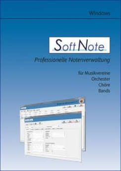 Musiknoten SoftNote, Die professionelle Notenverwaltung für Windows/Einzelplatzlizenz - Download