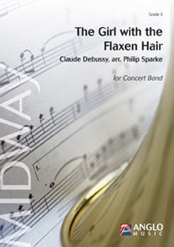 Musiknoten The Girl with the Flaxen Hair, Claude Debussy/Philip Sparke