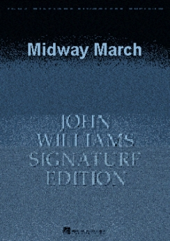 Musiknoten Midway March, Williams/Paul Lavender