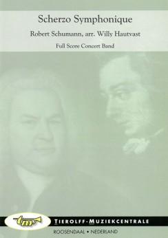 Musiknoten Scherzo Symphonique, Robert Schumann/Willy Hautvast