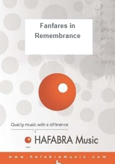 Musiknoten Fanfares in Remembrance, Peadar Townsend